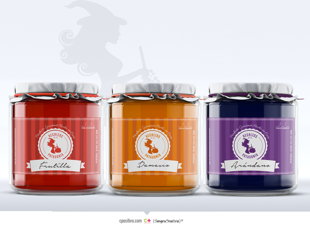 Logo y etiqueta para mermeladas by Cpositivo